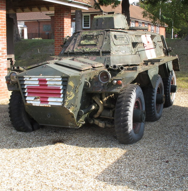 Saracen armoured ambulance, Army Medical Services Museum