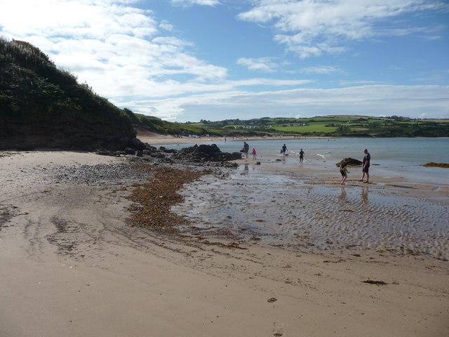 Part of Traeth Lligwy
