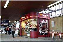 SE1632 : Kiosk at Bradford Interchange station by Phil Champion