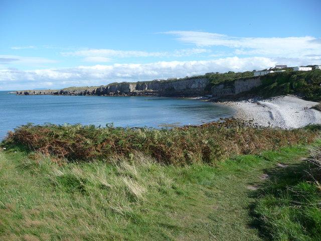 Porth Helaeth near Moelfre