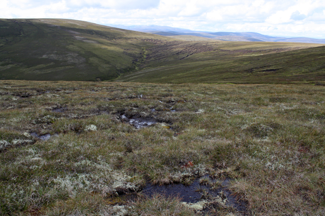 Boggy moorland, Carn Mhic an Toisich