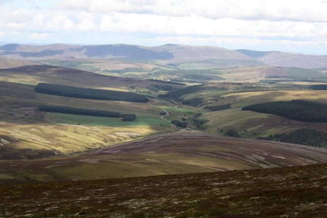 View from Beinn a' Chruinnich