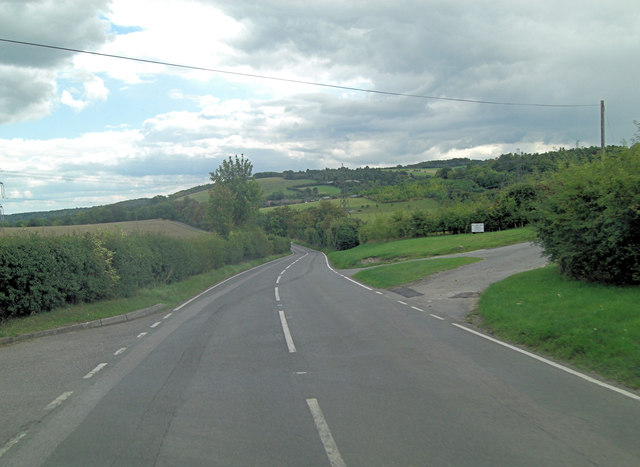 A417 going south of Cow Lane