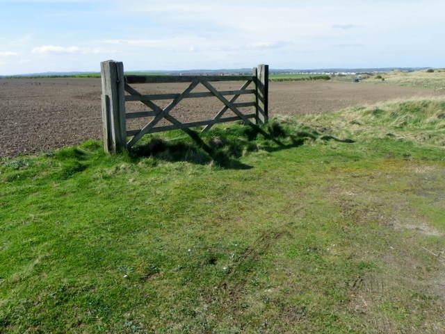 Gate near Hauxley