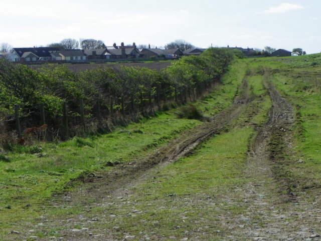 Footpath near High Hauxley