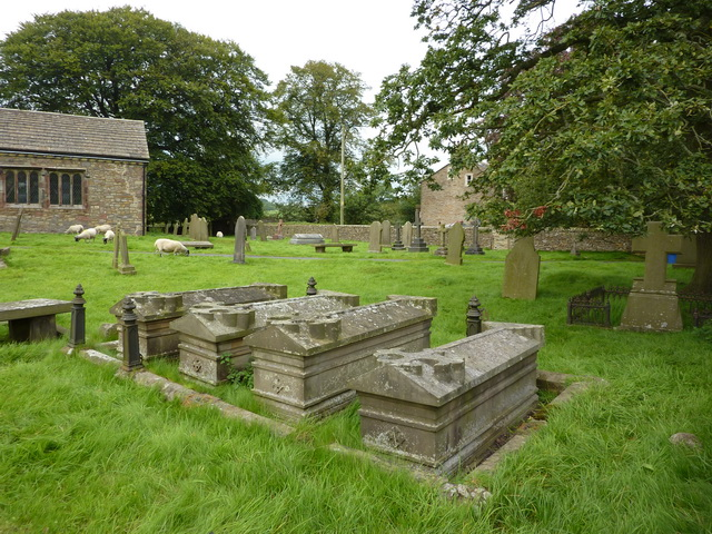 The Parish Church of All Saints, Broughton with Elslack, Graveyard