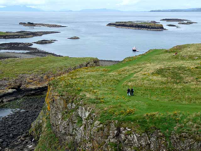 Path on Lunga