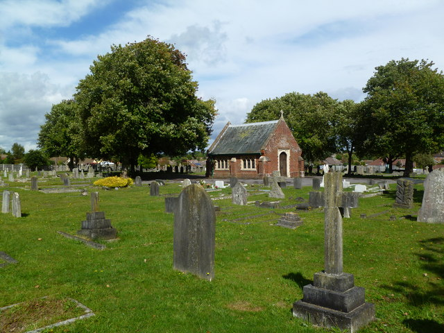 Lymington Cemetery, chapel