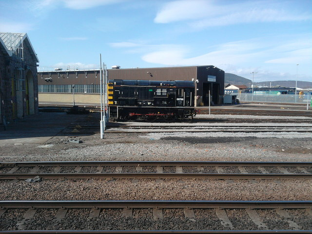 Inverness Railway Depot