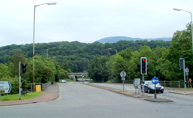 Southern end of the A4109, Glynneath