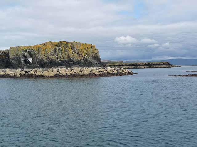 Southern end of Sgeir an Eirionnaich