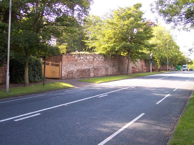 Column Road in Caldy