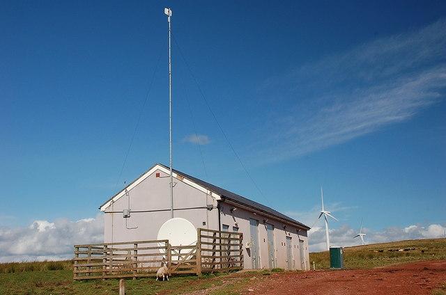 Substation building, Black Hill