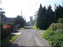 ST5331 : Church Street, Barton St David by Geoff Pick