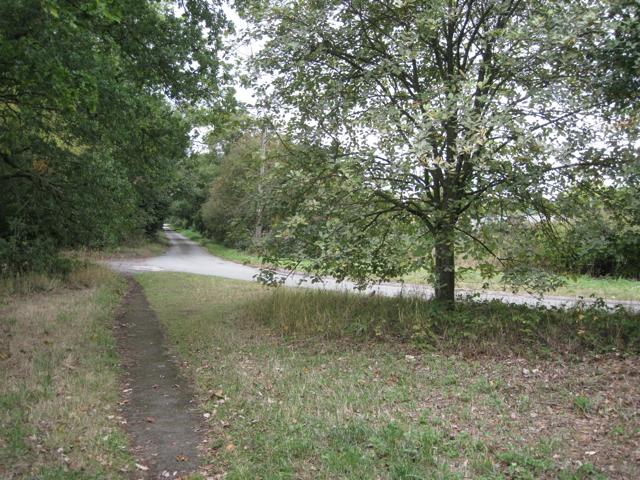 Sharp bend, Marsh Lane