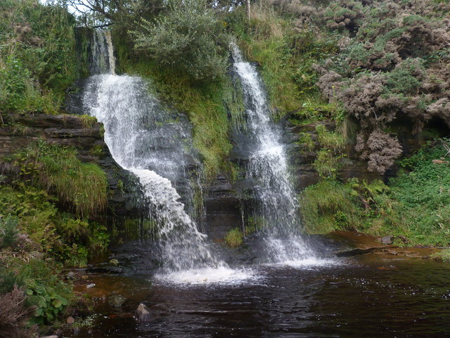 Waterfall on Sputie Burn