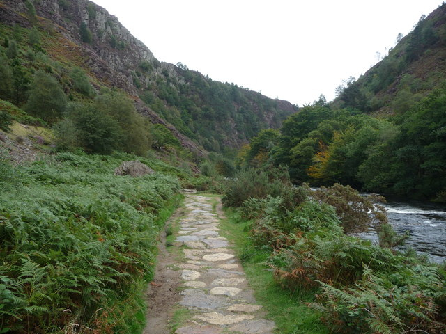 Footpath into the Pass of Aberglaslyn