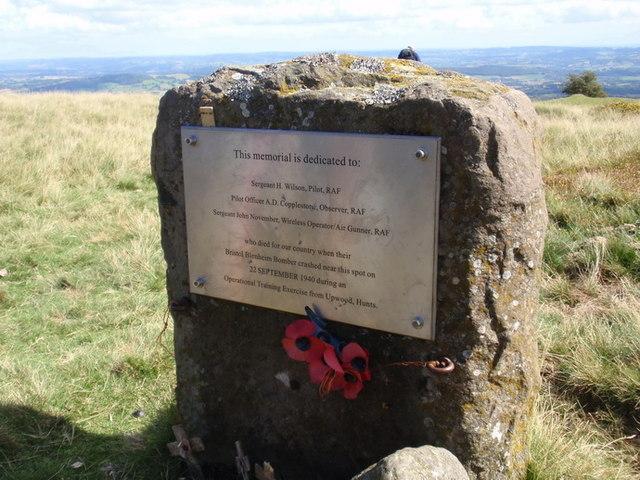 Cofeb Blenheim Memorial