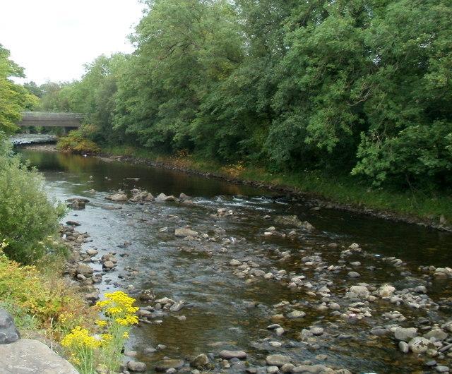 River Neath upstream, Glynneath