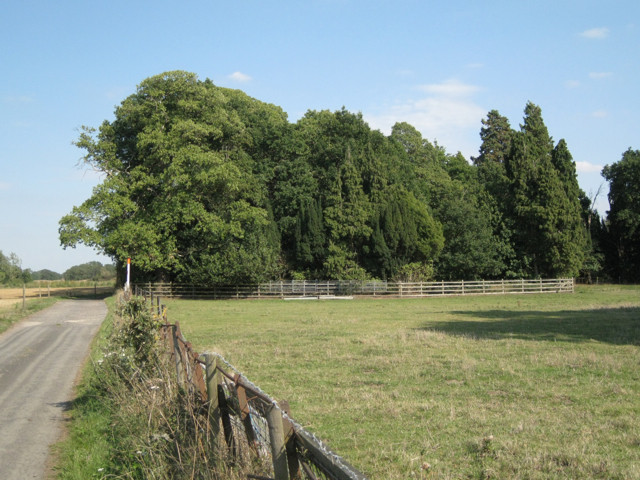 Former grounds of Mercote Hall
