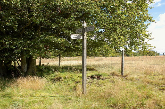 Southern Upland Way signpost, Commonside