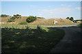 SP2280 : Bund near the site of Mercote Hall  by Robin Stott