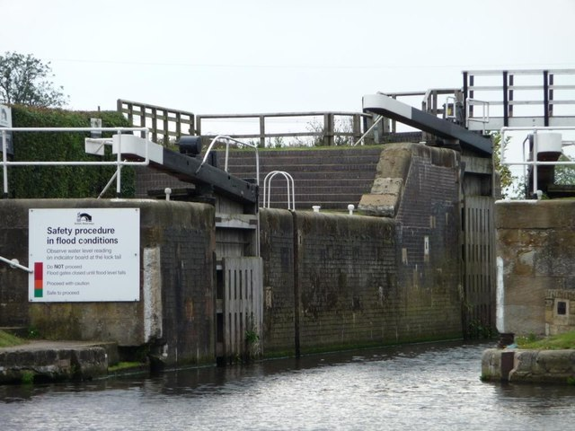 West Haddlesey Flood Lock, Selby Canal