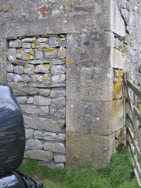 Bench mark on Silverdale Barn