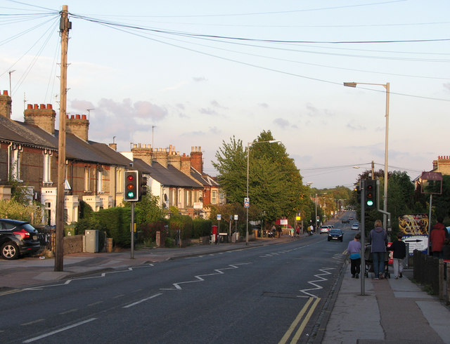 Evening on Cherry Hinton Road
