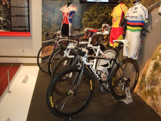 Four important racing bikes