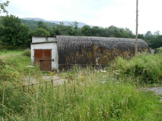 Nissen hut, Pontneathvaughan Road, Glynneath
