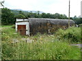 SN8907 : Nissen hut, Pontneathvaughan Road, Glynneath by Jaggery