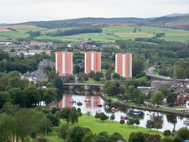 West Bridgend And The River Leven