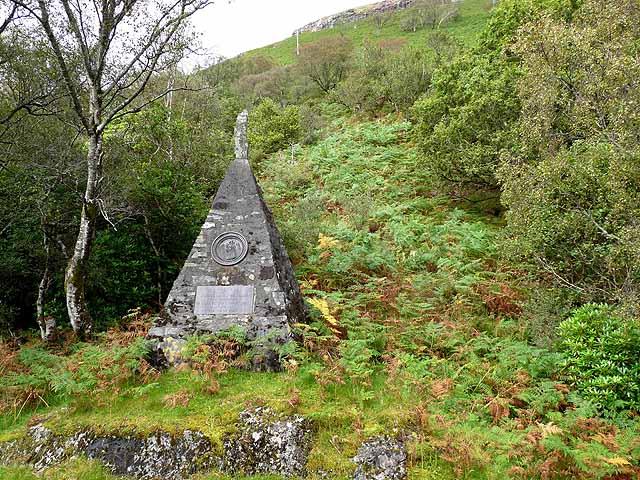 Jubilee Monument by Loch Uisg