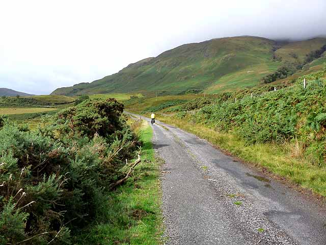 Road at Kinlochspelve