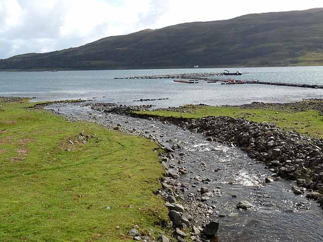 Loch Spelve Fish Farm