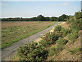 SP2280 : Track to Mercote Mill Farm by Robin Stott