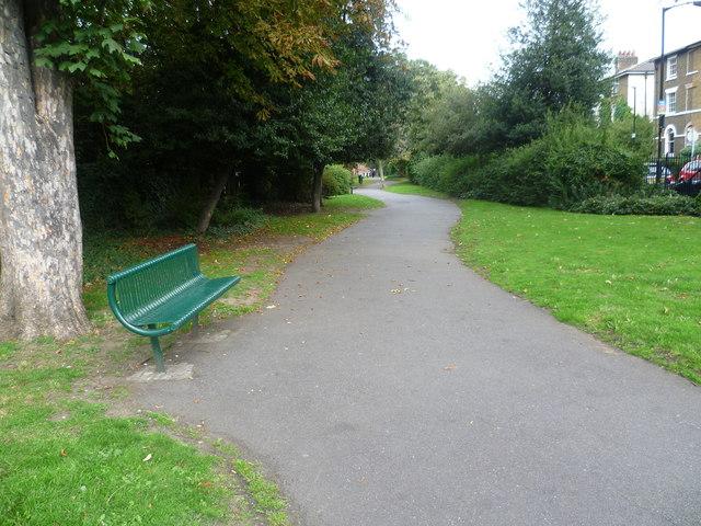 Holly Grove Shrubbery, Peckham