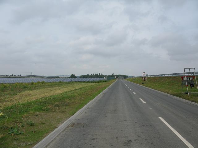 New road through Stonelees