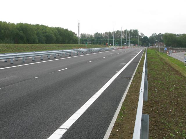 East Kent Access phase 2 looking towards Ebbsfleet roundabout