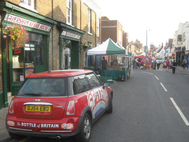 Spitfire on Preston Street