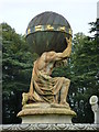 SE7169 : Atlas in the fountain at Castle Howard by pam fray