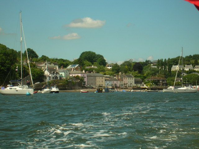 Dittisham Waterfront from the River