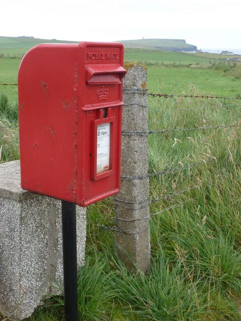 Birsay: postbox № KW17 100