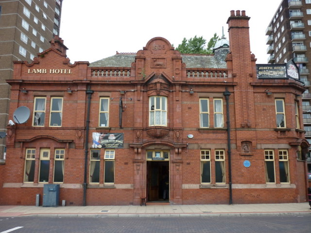 The Lamb Hotel, Eccles