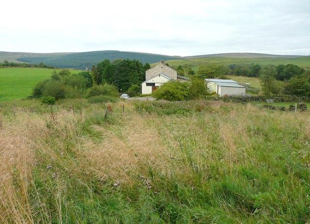 Footpath (Todmorden 055) near Raw Hey