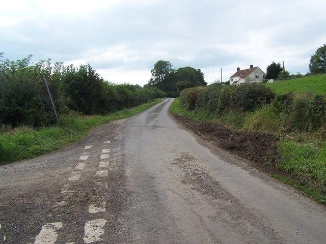 Lane Junction Near Binegar