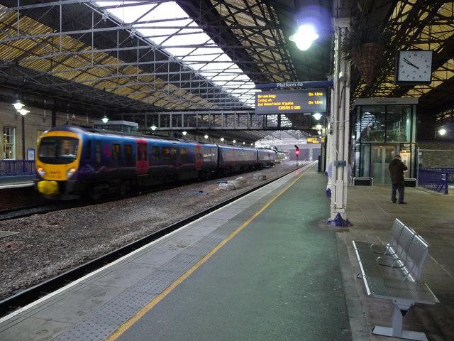 Platform 4a, Huddersfield railway station