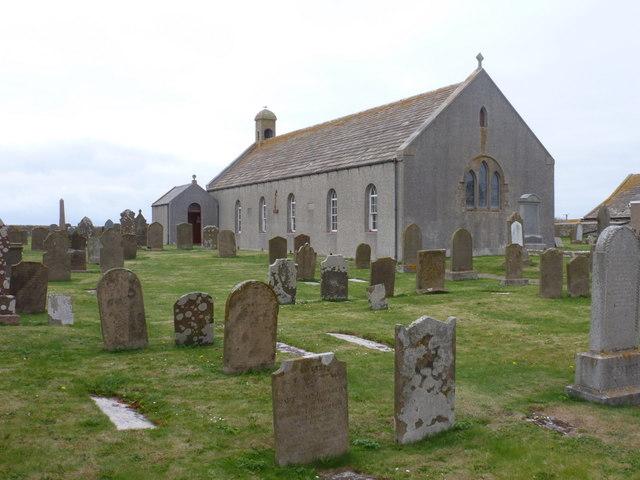 Birsay: St. Magnus kirk