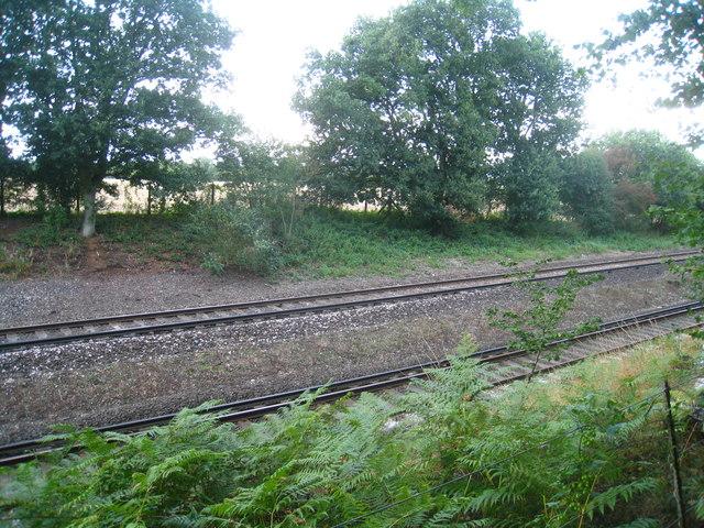 Main line near Oakley